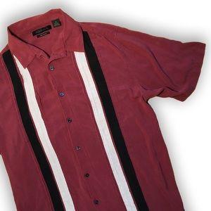 Vintage striped button down shirt